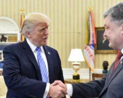 Трамп напомнил Порошенко о коррупции