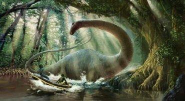 Ученые: Динозавры стали идиотами и вымерли из-за вегетарианства