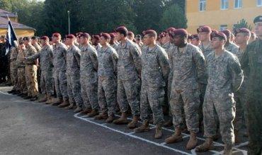 На Львовщине завершились украинско-американские учения Rapid Trident