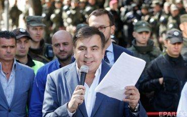 Саакашвили назвал взрывы в Калиновке «подарком» от Путина
