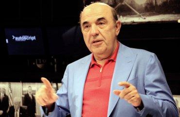 Вадим Рабинович: Чем хуже живется народу Украины, тем шире морды у правительства