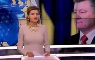 Марина Порошенко заплатила за поздравительный ролик президенту