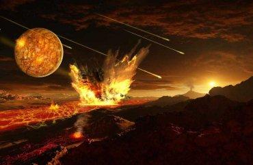 Тектонику плит на Земле могла запустить тяжелая метеоритная бомбардировка