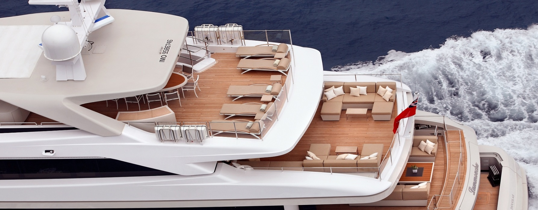 Обнаружена новая яхта Путина