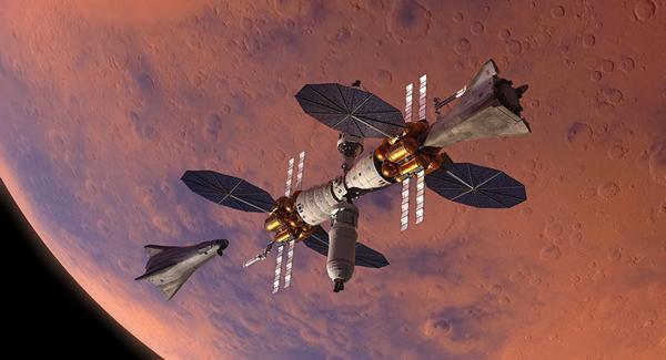 Конкурент Илона Маска хочет создать свой собственный космический корабль для полетов на Марс