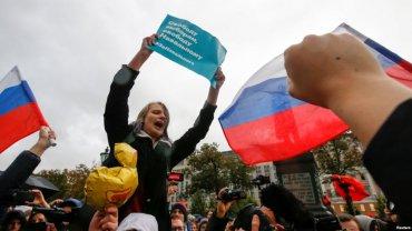 В России прошли акции в поддержку Навального