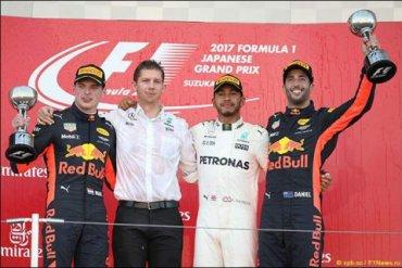 Гран-при Японии выиграл Хэмилтон