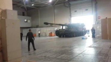 В Украину из Польши доставили легендарные САУ Krab