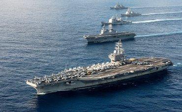 США отправили к КНДР два авианосца