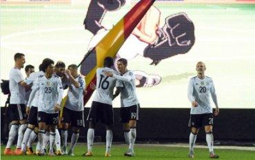 Сборная Германии по футболу установила рекорд