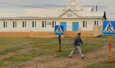 В России нашелся самый нелепый пешеходный переход