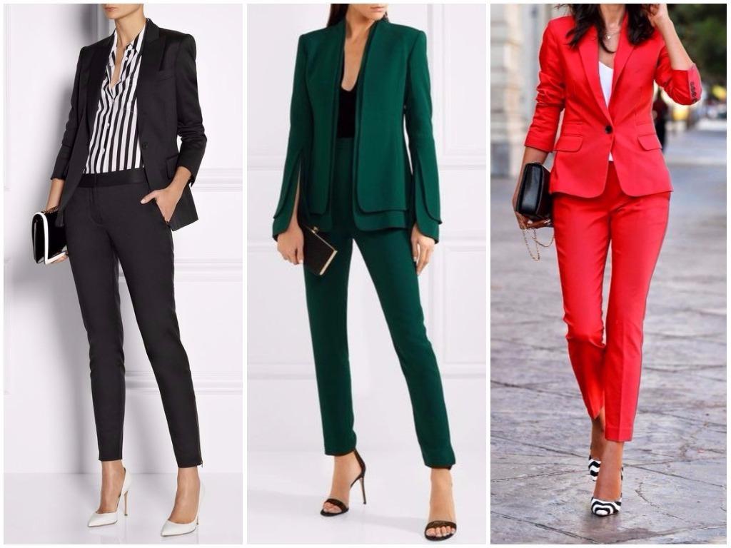 Модные женские костюмы оптом
