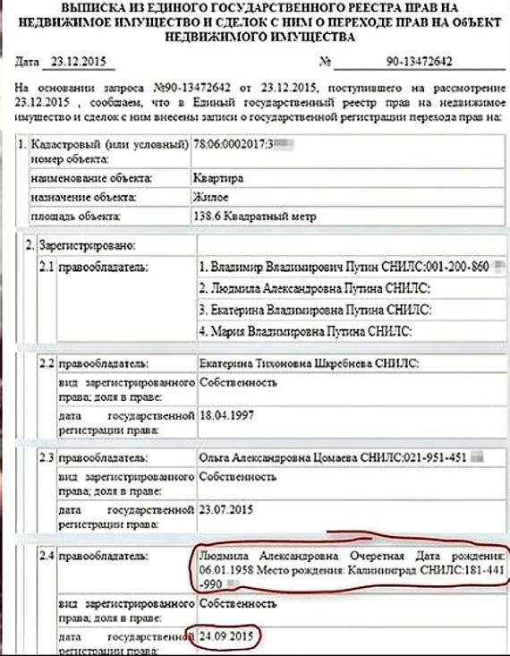 Людмила Путина или Очеретная: фотодоказательства