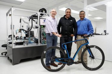 Первые в мире: калифорнийский стартап напечатал велосипед на 3D принтере
