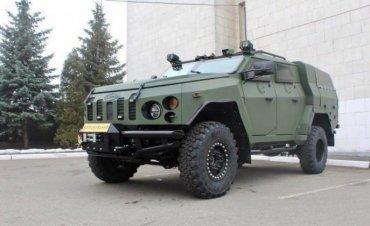 Украинцы построили новый бронеавтомобиль