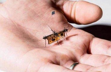 Робомуха впервые полетела безпроводов