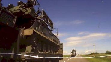Опубликовано видео маршрута передвижения Бука, сбившего Боинг рейса МН17