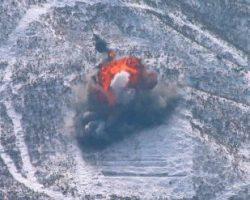 В Сеть попало видео взрыва ядерного полигона КНДР