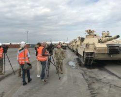 США перебрасывают танки в Восточную Европу
