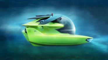 Aston Martin показал первую электрическую субмарину
