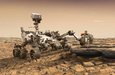 Америка построит на Марсе маленькое химическое предприятие