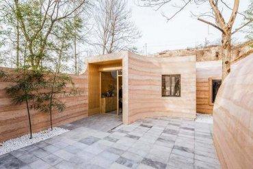 Китайские дизайнеры показали современное пещерное жилье