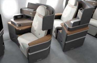 В самолетах могут появиться самоочищающиеся кресла и кресла с баром