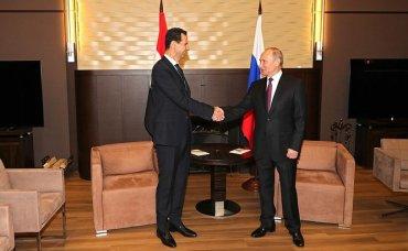 К Путину в Сочи прилетел Асад