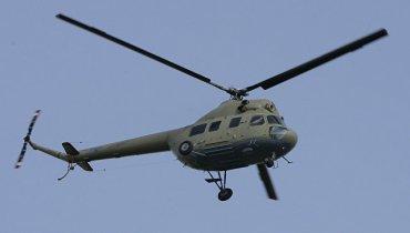 Упавший в России вертолет Ми-2 пытались закопать, чтобы скрыть аварию