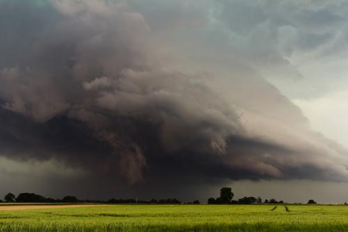 Российский город накрыли облака Апокалипсиса