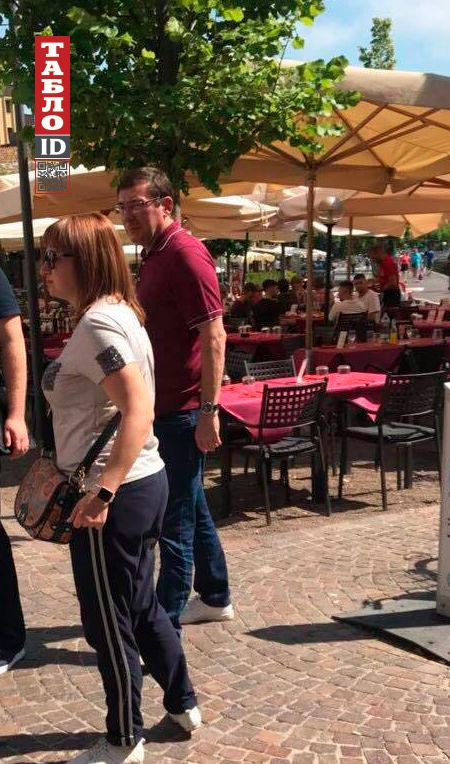 Гепрокурор Юрий Луценко отдыхает в Италии на озере Комо
