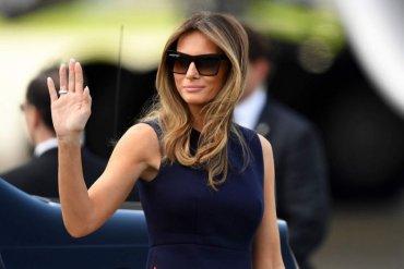 Меланию Трамп объявили пропавшей без вести