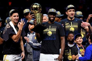«Голден Стэйт Уорриорс» в шестой раз стал чемпионом НБА