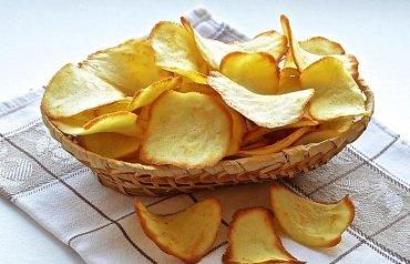 3-D принтер печатает картофельные чипсы