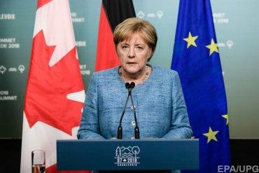 Меркель разочарована саммитом G7
