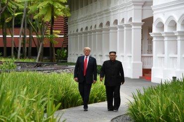 Трамп показал Ким Чен Ыну своего «Зверя»