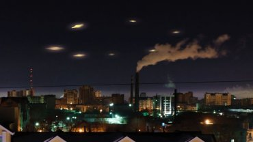В небе над Марокко зависли десятки НЛО