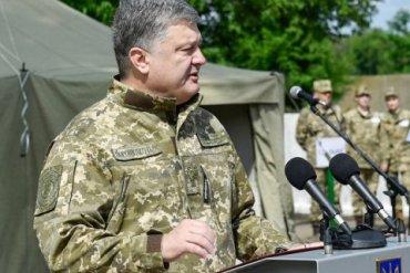 Порошенко исключил «авантюрное военное наступление» на Донбассе