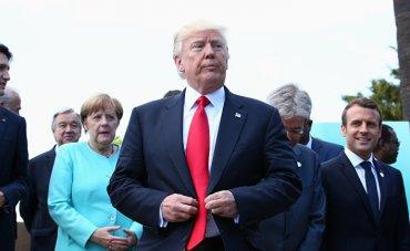 Трамп грубил лидерам «Большой семерки»
