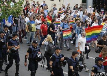 Марш равенства в Киеве стал самым скандальным