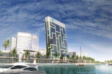 В Дубае почти достроили небоскреб-гаджет