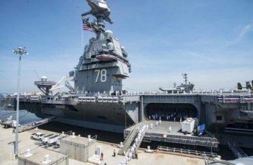 Стало известно о вооружении американского авианосца Gerald Ford