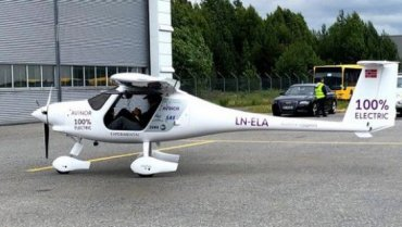 Норвегия начнёт переход на электрические самолёты
