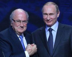 Кремль рассказал о тайной встрече Путина с президентом ФИФА Блаттером