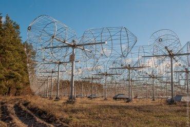 Под Полтавой работает один из крупнейших радиотелескопов Украины