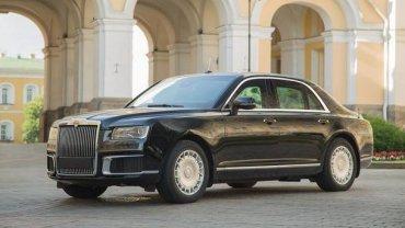 Появилось первое фото бронированного седана для «Кортежа» Путина