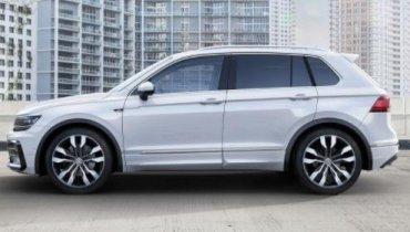 ДСНСники Донетчины купили внедорожник Volkswagen Tiguan с бронезащитой за 1,7 миллиона