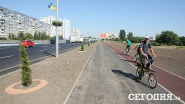 Велосипедные дорожки на улицах Украины станут обязательными