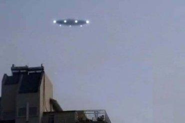 Отдыхающие сняли НЛО над Одессой