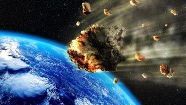 Над Африкой взорвался астероид